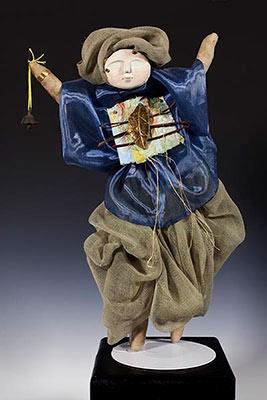 Dancing Figure Sculpture Photo