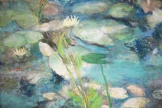 Gossamer Pond Painting